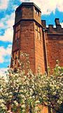 Torre del castello Immagine Stock