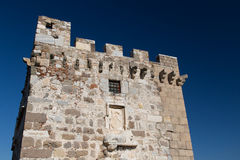 Torre del castello di Bodrum Immagine Stock
