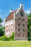 Torre del castello di Borgeby Fotografie Stock Libere da Diritti