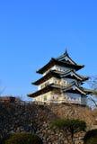 Torre del castello di Hirosaki fotografie stock