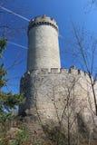 Torre del castello di KokoÅ™Ãn fotografia stock libera da diritti