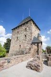 Torre del castello di Nideggen in Germania, editoriale fotografia stock libera da diritti