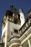 Torre del castello di Peles Immagini Stock Libere da Diritti