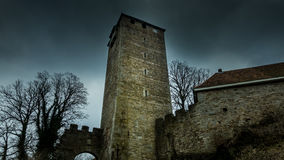 Torre del castello di Schaumburg in Germania Immagine Stock Libera da Diritti