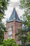 Torre del castello di Trollenas fotografia stock libera da diritti