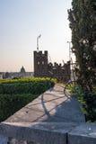 Torre del castello Udine e della città Udine Fotografie Stock