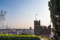 Torre del castello Udine e della città Udine Immagini Stock Libere da Diritti