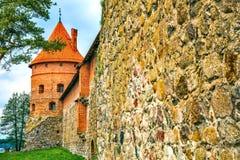 Torre del castillo Fotografía de archivo
