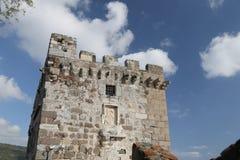 Torre del castillo de Bodrum Fotografía de archivo