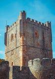 Torre del castillo de Braganza Imagen de archivo libre de regalías
