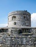 Torre del castillo de Calshot fotos de archivo