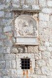 Torre del castillo de Frankopan, Krk, Croacia Fotos de archivo libres de regalías