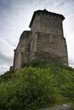 Torre del castillo de Khotyn Imagenes de archivo