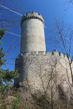 Torre del castillo de KokoÅ™Ãn Foto de archivo libre de regalías
