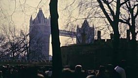 Torre del castillo de Londres metrajes