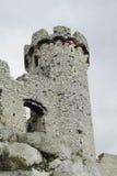 Torre del castillo de Medival Fotos de archivo libres de regalías