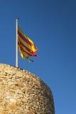 Torre del castillo de San Juan Foto de archivo