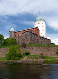 Torre del castillo de Vyborg Fotografía de archivo libre de regalías