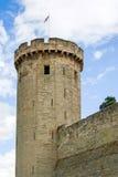 Torre del castillo de Warwick fotografía de archivo