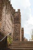 Torre del castillo en Buitrago de Lozoya Madrid España foto de archivo libre de regalías