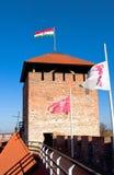 Torre del castillo Gyula Fotos de archivo libres de regalías
