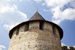 Torre del catle de Hotin Imagenes de archivo