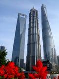 Torre del centro de Shangai Imágenes de archivo libres de regalías