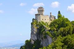 Torre del Cesta di San Marino Immagini Stock Libere da Diritti