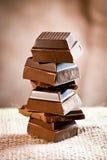 Torre del chocolate de la grapa fotografía de archivo