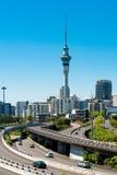 Torre del cielo de Auckland imágenes de archivo libres de regalías