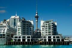 Torre del cielo de Auckland Foto de archivo libre de regalías