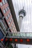 Torre del cielo de Auckland Fotos de archivo