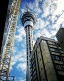Torre del cielo de la calle Fotografía de archivo libre de regalías