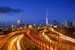 Torre del cielo di Auckland Immagini Stock Libere da Diritti