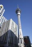 Torre del cielo di Auckland Immagine Stock
