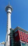 Torre del cielo en Auckland, Nueva Zelanda imagen de archivo libre de regalías
