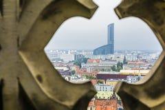 Torre del cielo a Wroclaw Immagine Stock