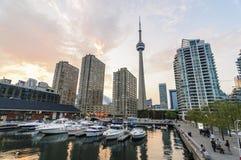 Torre del CN di Toronto Immagini Stock