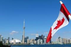 Torre del CN a Toronto Immagini Stock Libere da Diritti