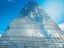 Torre del comercio de WTC Seul y centro del convenio y de exposición de Coex encendido Foto de archivo libre de regalías