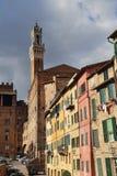 Torre del comune di Siena, Italia Fotografia Stock Libera da Diritti