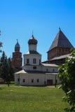 Torre del Cremlino di Novgorod, monumenti storici di Novgorod e dintorni, Russia Fotografia Stock