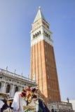 Torre del cuadrado de San Marco, Venecia Imagenes de archivo
