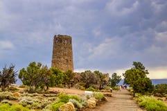 Torre del deserto, Grand Canyon Fotografie Stock Libere da Diritti