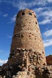 Torre del desierto en barranca magnífica Foto de archivo libre de regalías