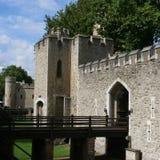 Torre del detalle de Londres imagen de archivo libre de regalías