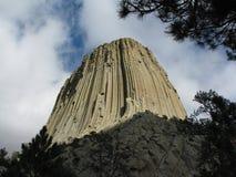 Torre del diablo imagen de archivo