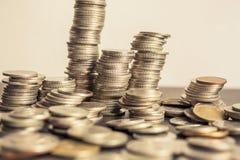 Torre del dinero Fotos de archivo libres de regalías