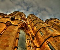 Torre del edificio en hdr Fotos de archivo