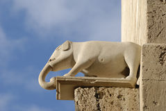 Torre del elefante - detalle Fotos de archivo libres de regalías